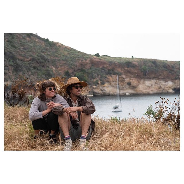 "Trevor & Maddie Gordon off the coast of California for @raen's ""Views West"""