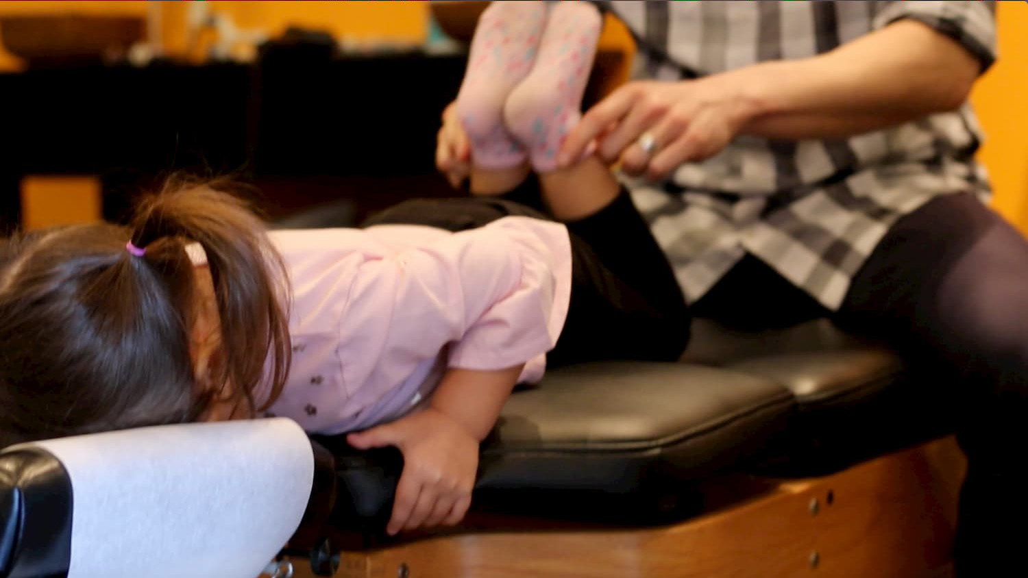 Pediatrics - As children grow their nervous system develops faster than any other time in life. Caring for the health and function of the nervous system is paramount for proper development. Gentle adjustments for kids have been shown to improve digestion, immune system function and sensory processing as well as reduce stress and anxiety.