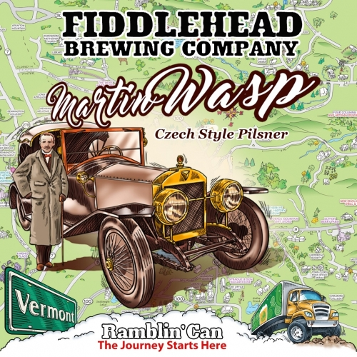 Fiddlehead Martin Wasp Logo