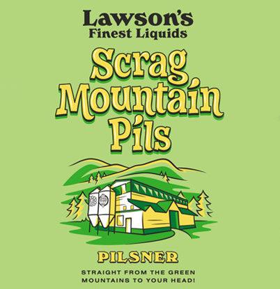 Scrag Mountain Pils Logo
