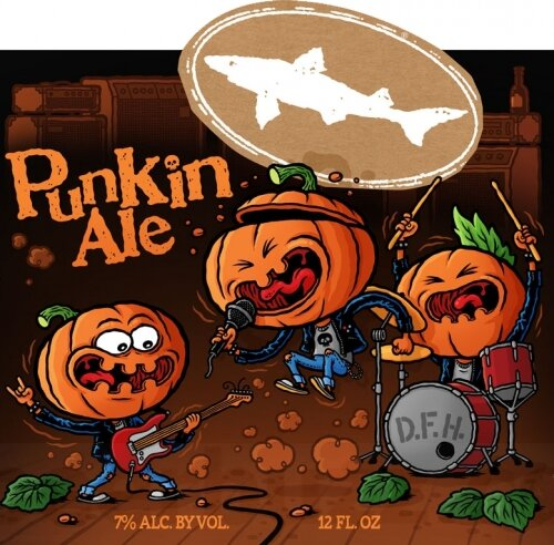 Punkin Ale Pumpkins playing music
