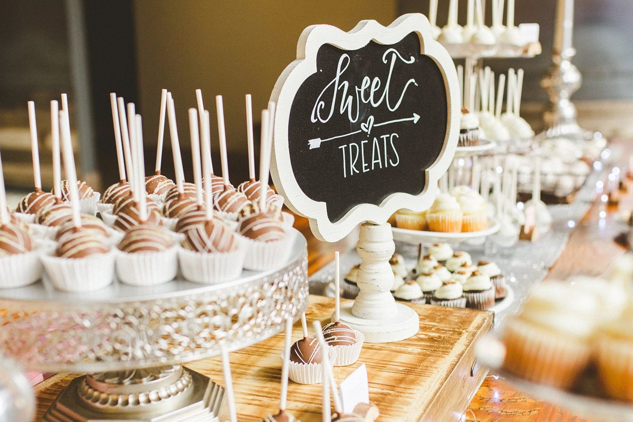 Dessert Bar - One of the most popular options for weddings! Mix and match any combination of your favorite desserts. Many brides will order the dessert bar to accent their wedding cake.