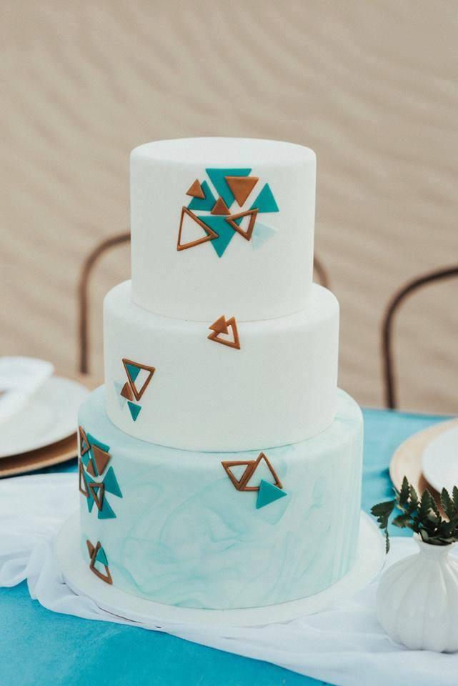 Desert Wedding Cake | Utah Wedding Cakes