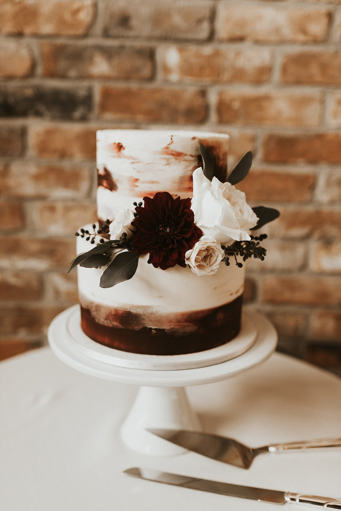 Frosted Wedding Cake | Utah Wedding Cakes