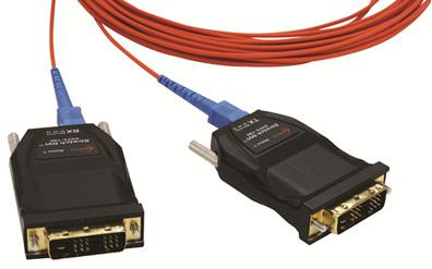 DVFX-100-TR ; One Fiber DVI Extender (multi-mode)