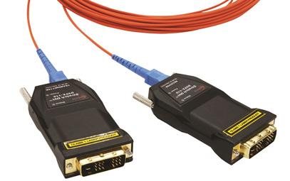 DVFX-110-TR ; One Fiber DVI Extender (single-mode)