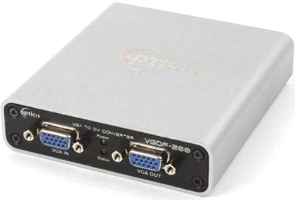 VGDF-200 ; VGA to Optical DVI Converter