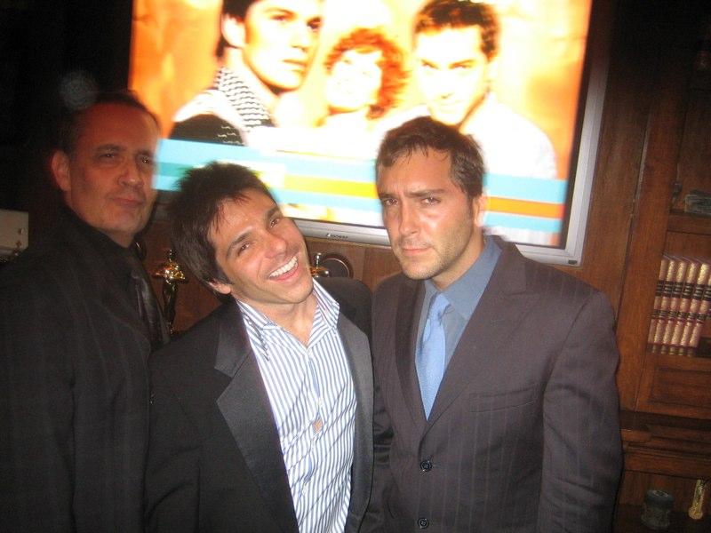 QAF Season 5 Premiere party, Los Angeles (l - r) Dan Lipman, Adam Newman, Scott