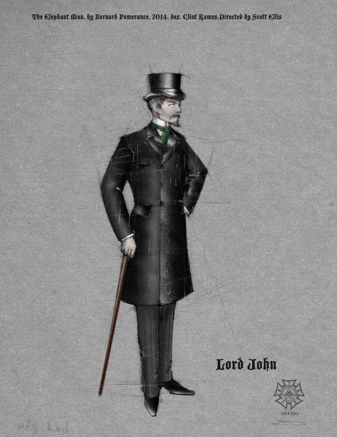 Lord John Costume design by Clint Ramos