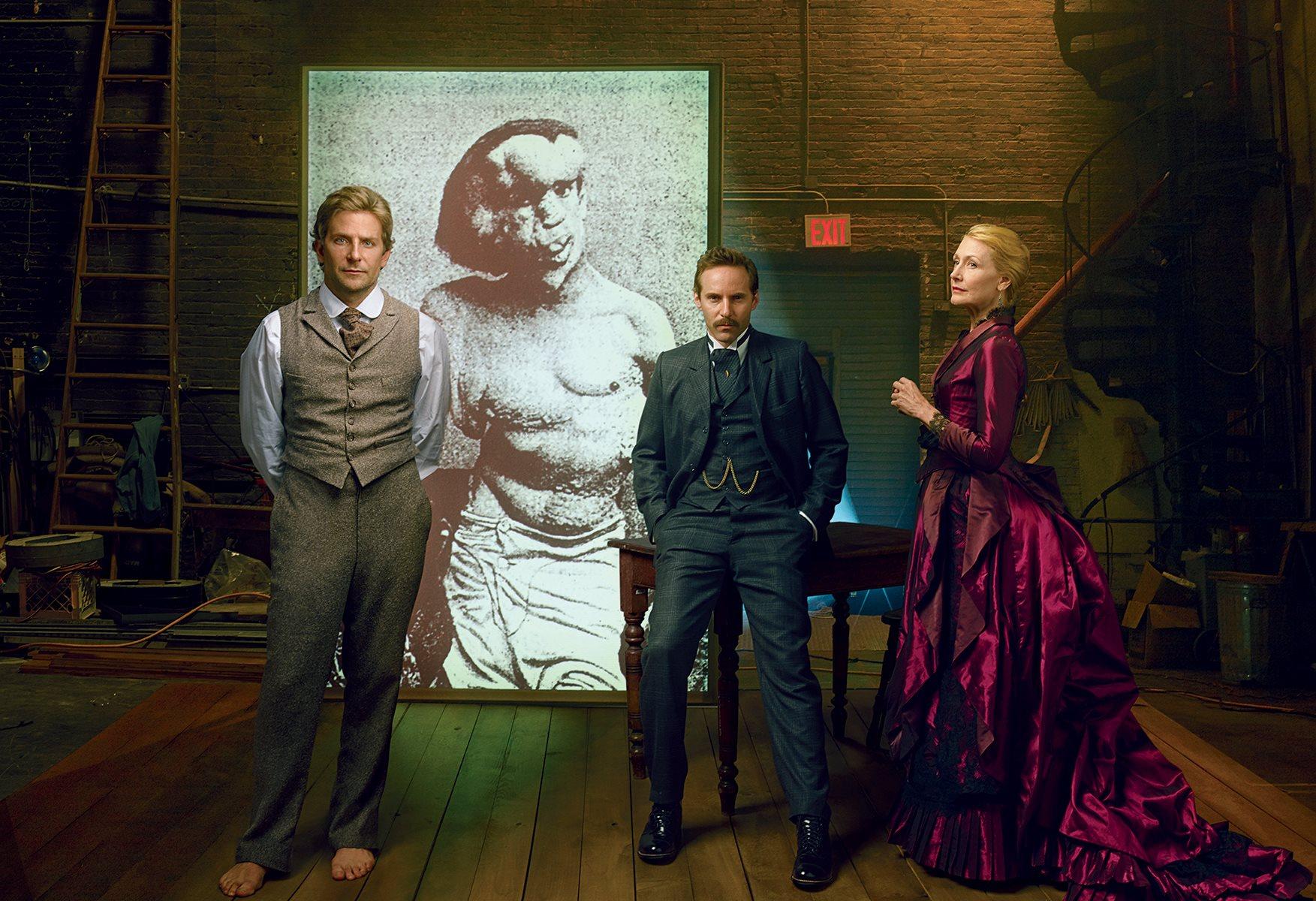 Bradley, Alessandro & Patricia for Vanity Fair. Photo by Annie Leibovitz