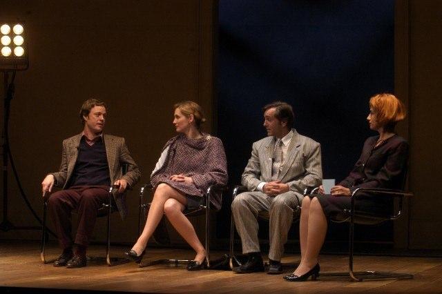 (l - r) Tom Story, Kate Jennings Grant, Scott & Patricia Buckley