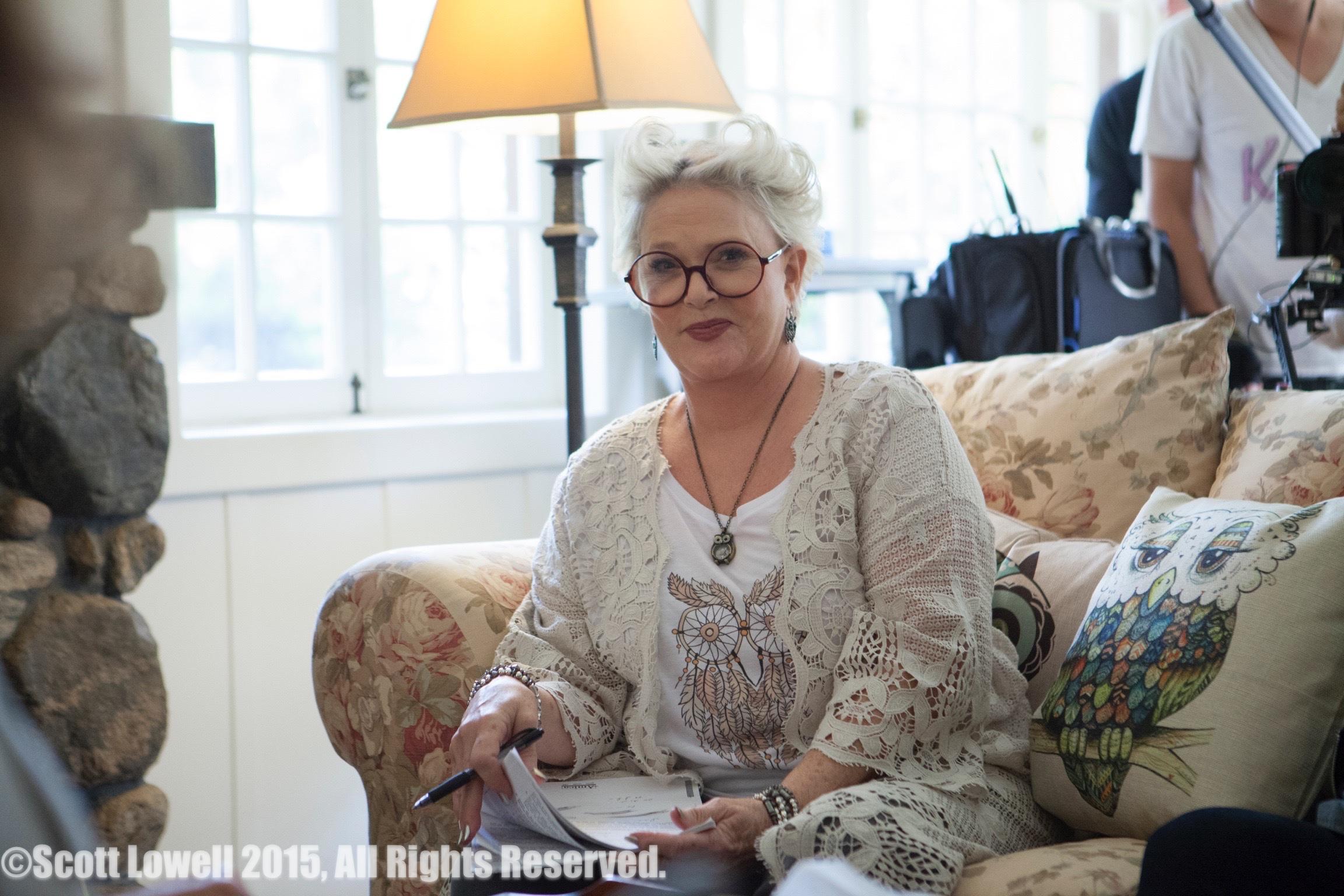 "11/09/15 ""Mary Elizabeths'"" House. Sharon Gless as ""Mary Elizabeths"""