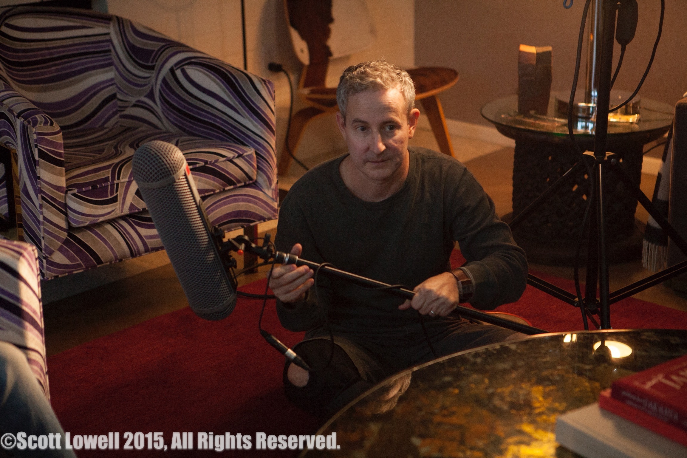 "11/13/15 Filming at ""Scott & Lisa's"" Home. Interview scenes. Eddie Jemison as ""Chaim"""