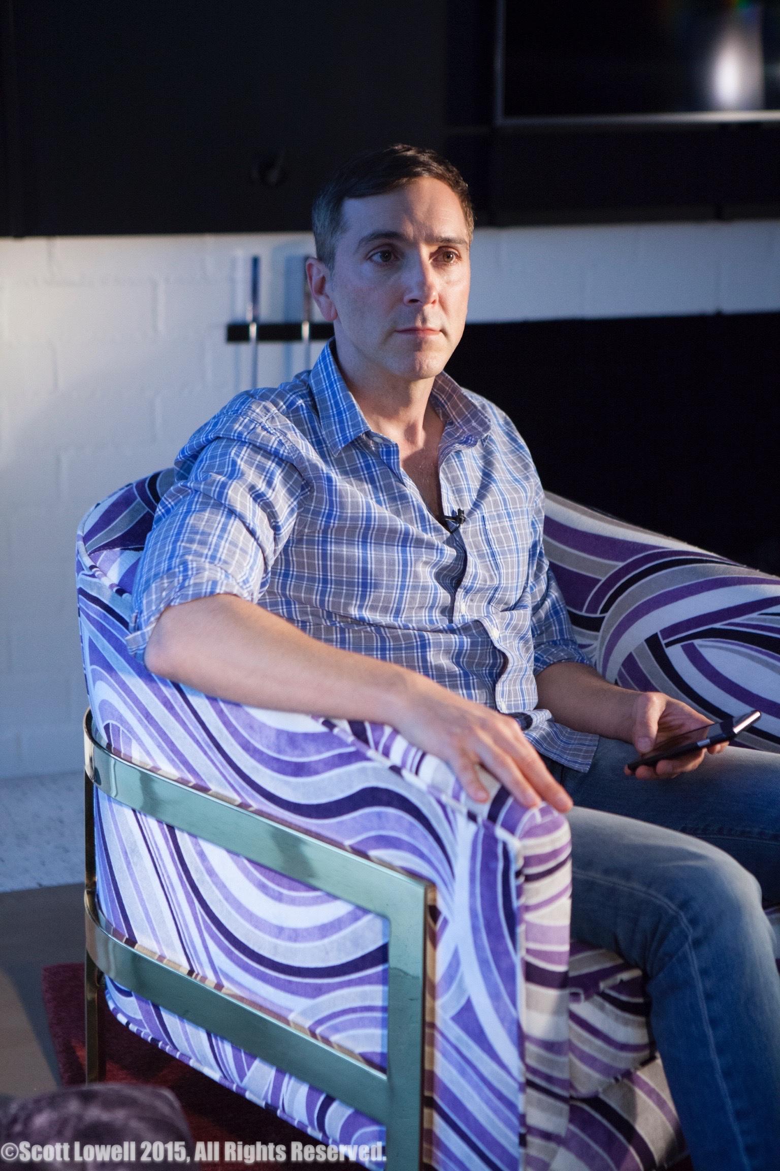 "11/13/15 Filming at ""Scott & Lisa's"" Home. Interview scenes. Scott Lowell"