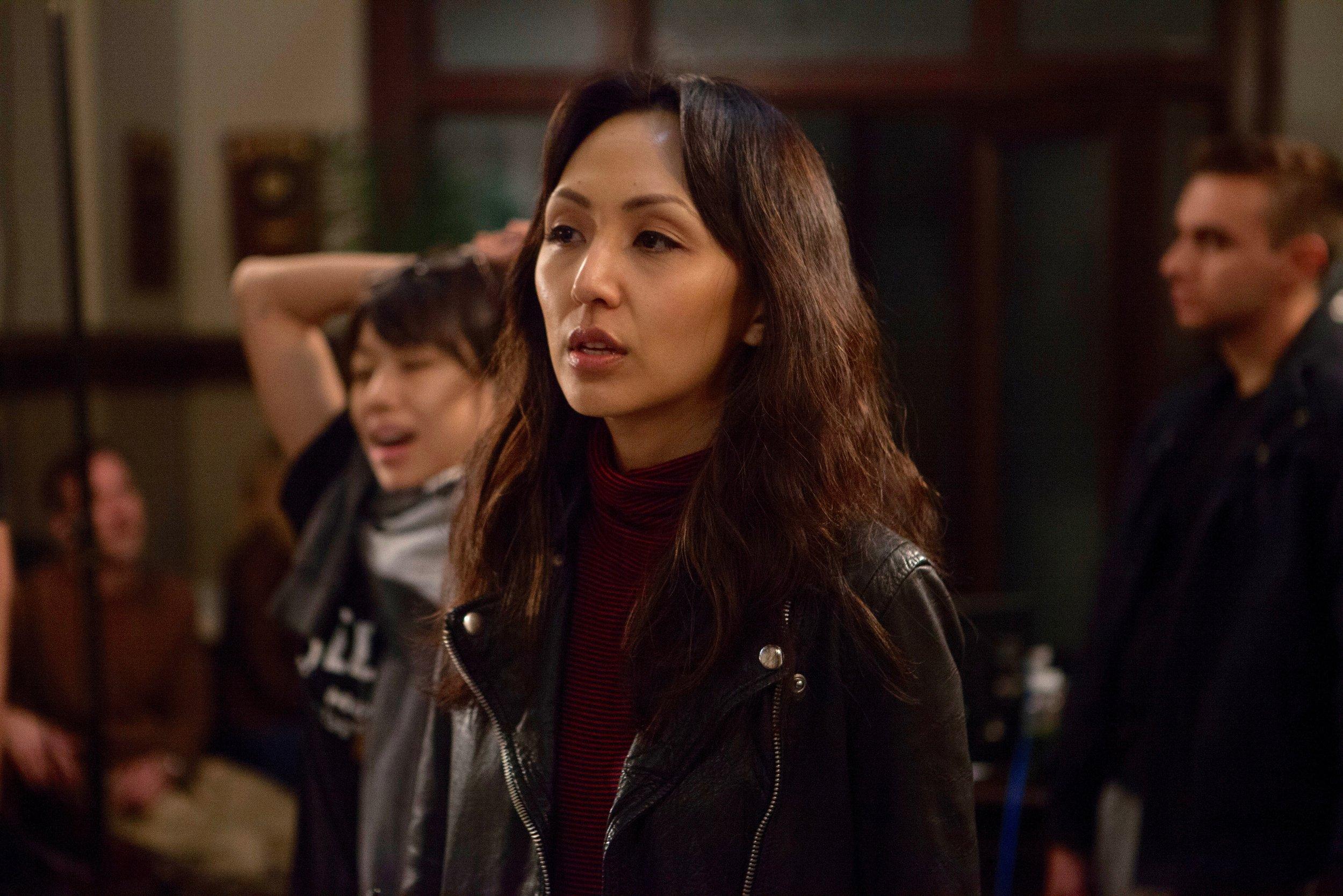 "1/16/16 Cops & Bottoms Production Office Scene. Linda Park as ""Jennifer"""