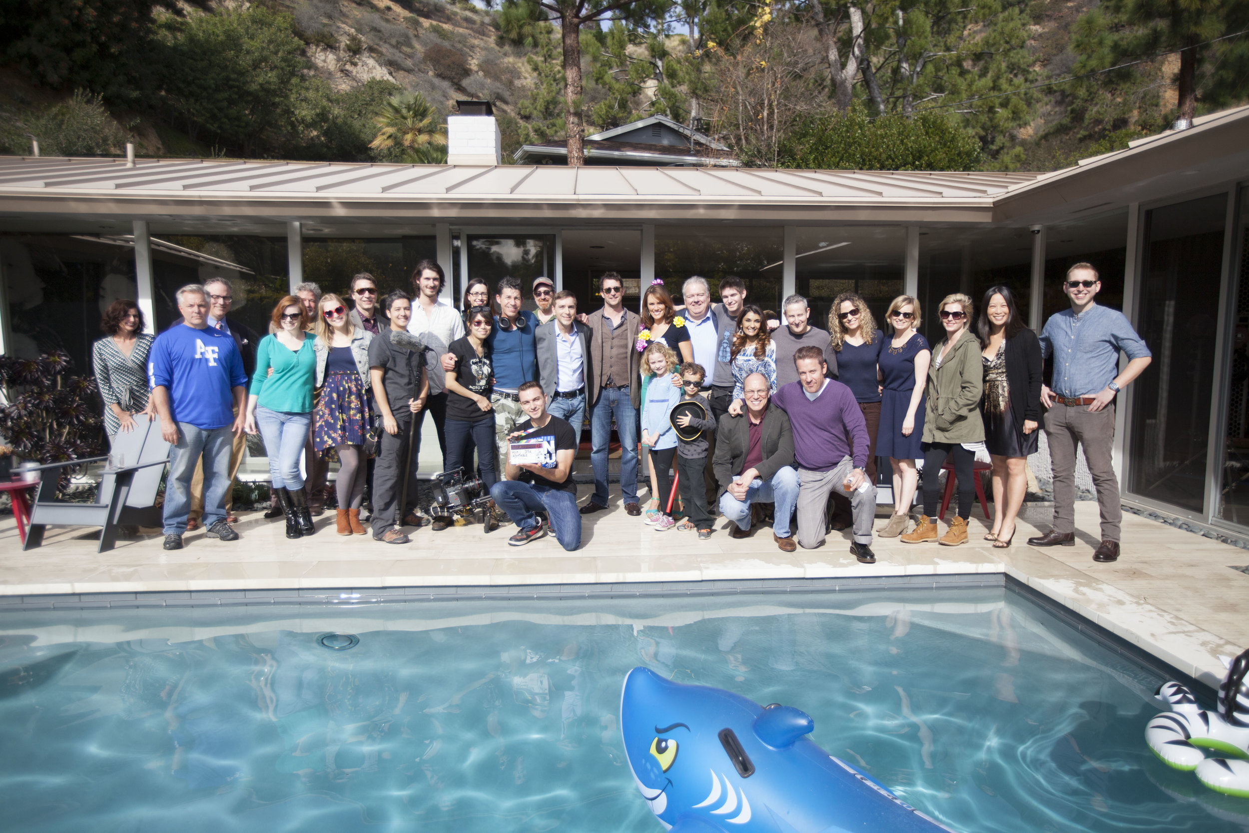 The Cast and Crew of Adoptable!