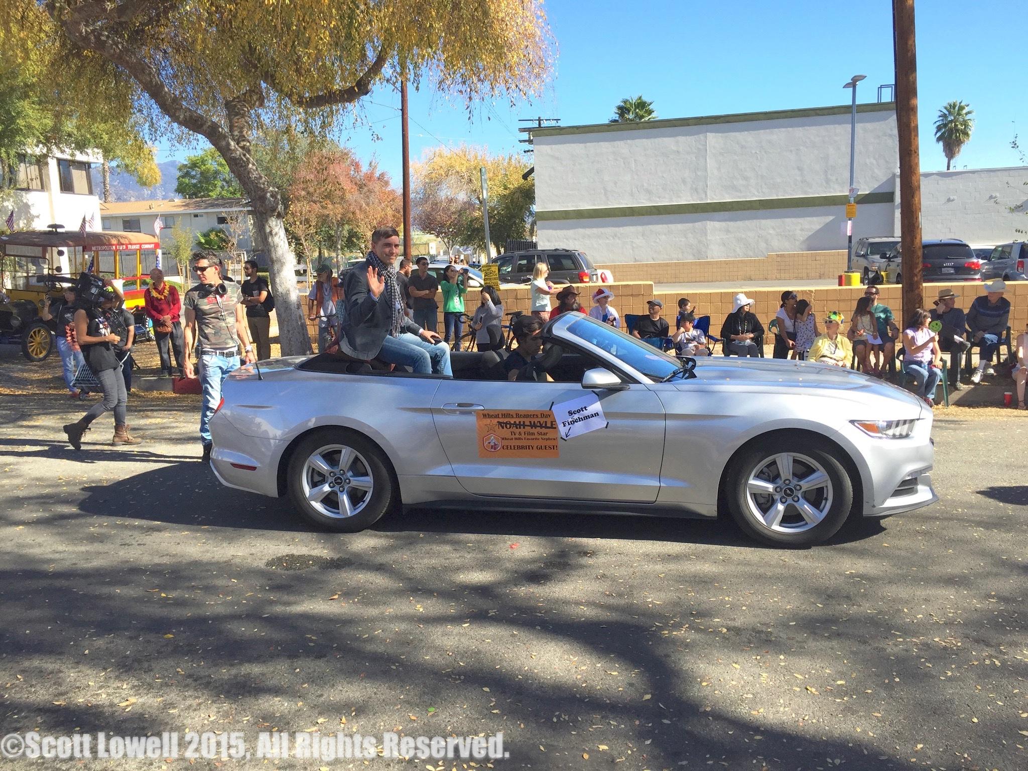 11/22/15 Parade Scene. L to R: Shirley Petchprapa (D.P.), Monty Miranda (Dir.), Scott Lowell