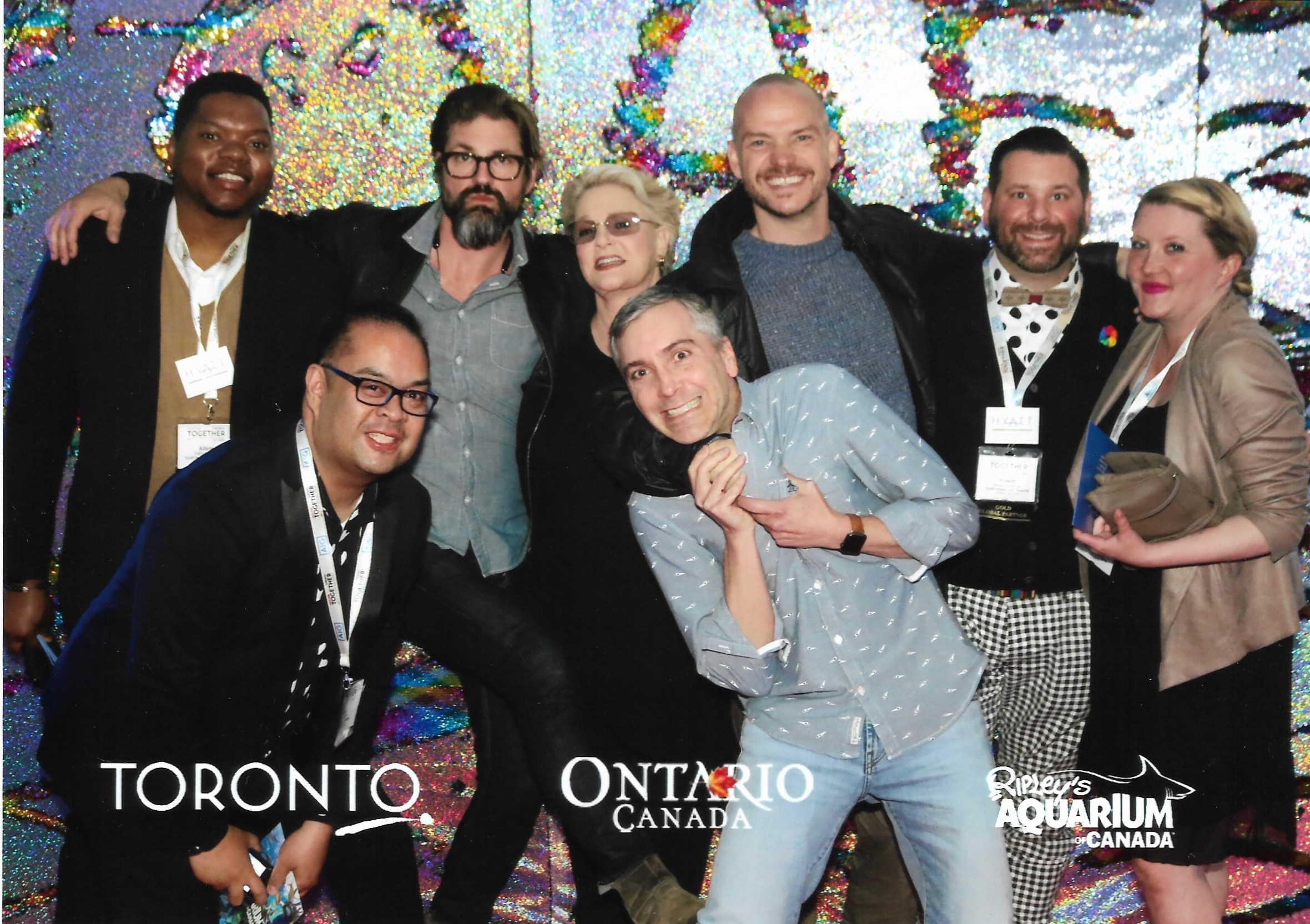 LGBT Travel Agent Convention in Toronto w/ fans 5/18