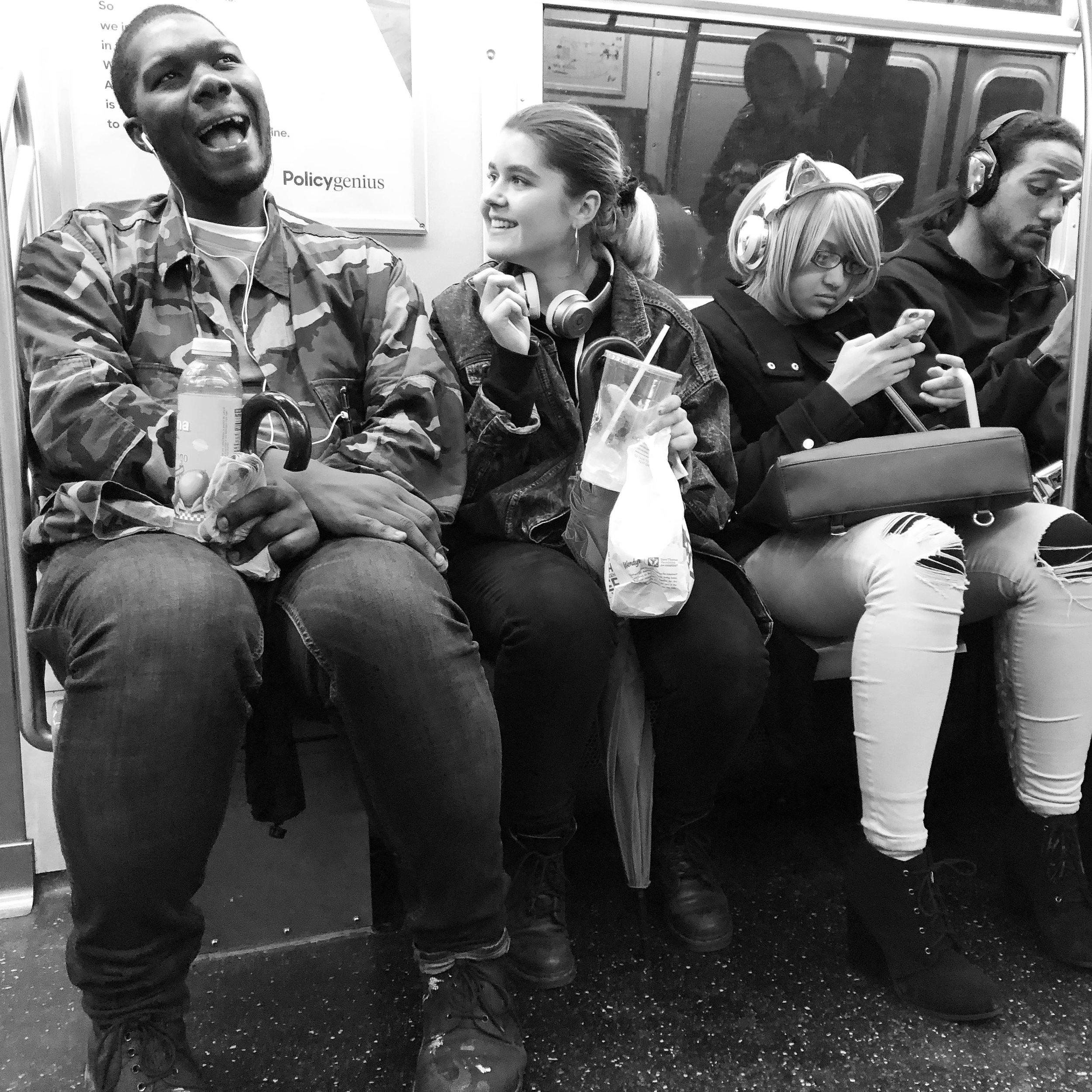 Joy On The F Train (Feb. 11. 2018)