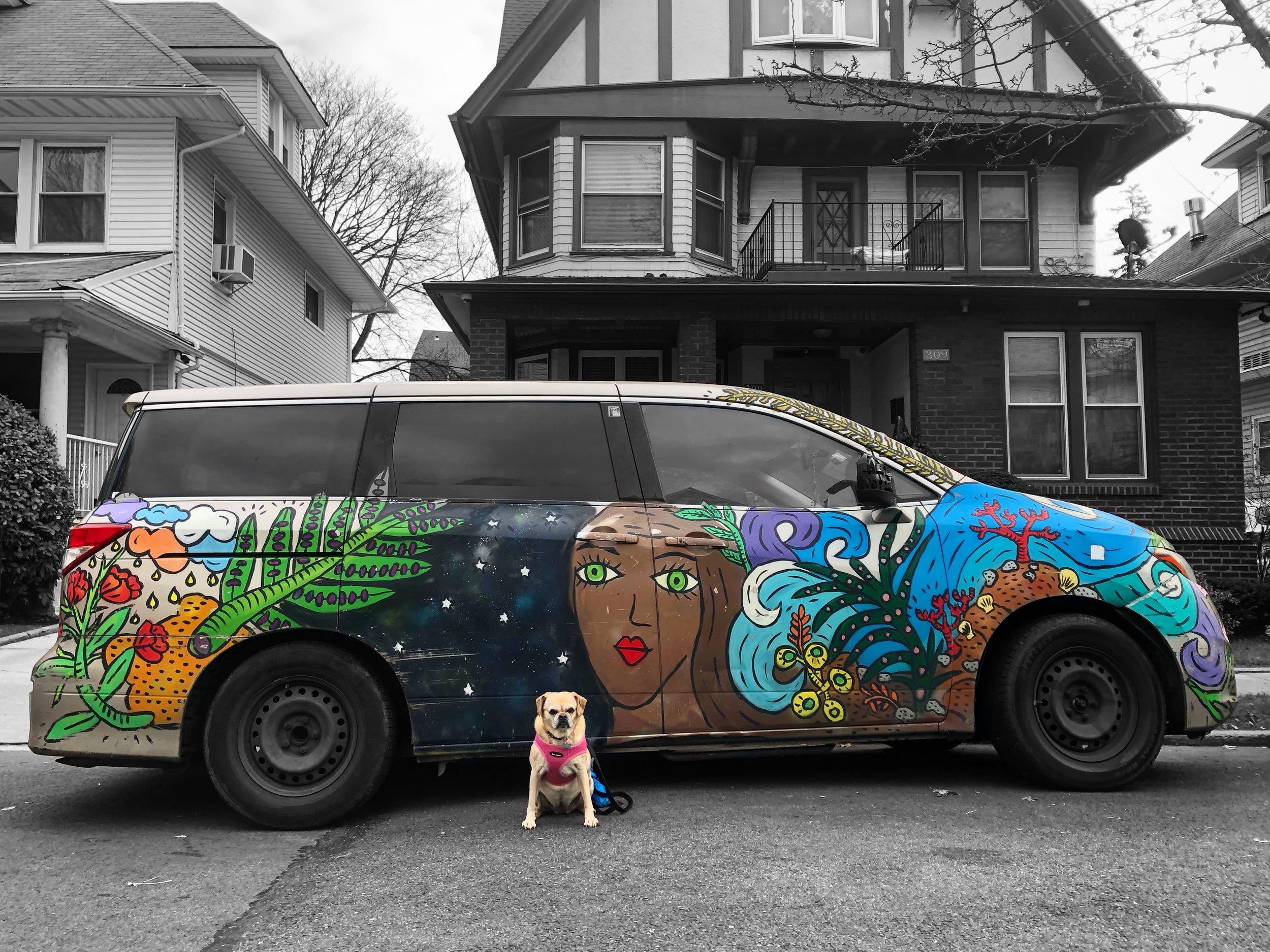 Pup Art (Brooklyn 11/2018)