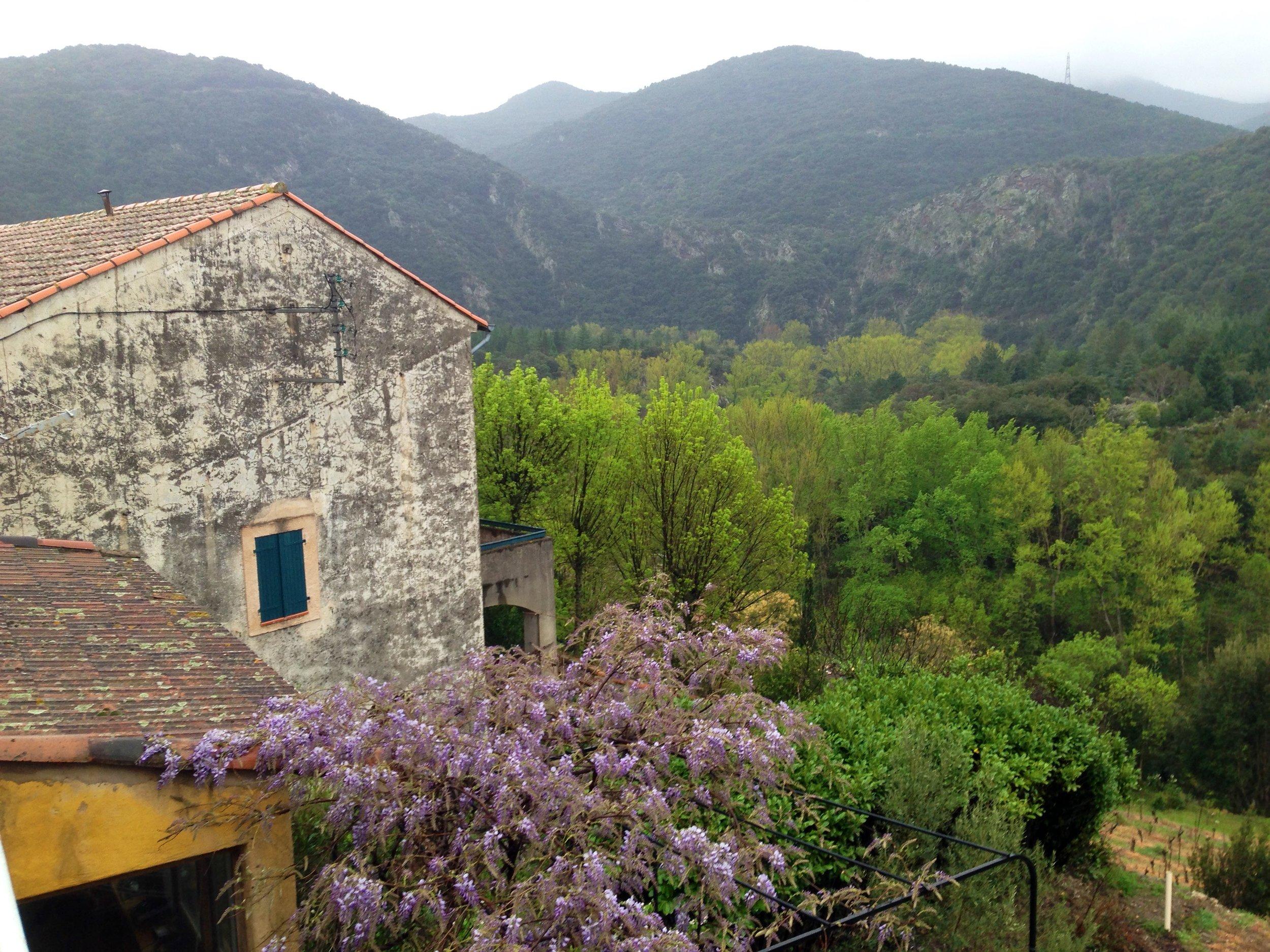 La Trivalle, France, April 2014