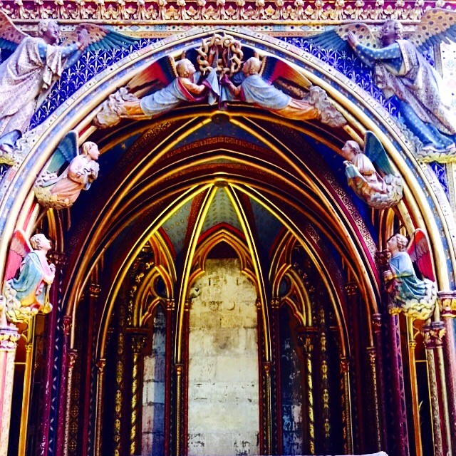 Sainte-Chapelle, Paris, France, June 2015
