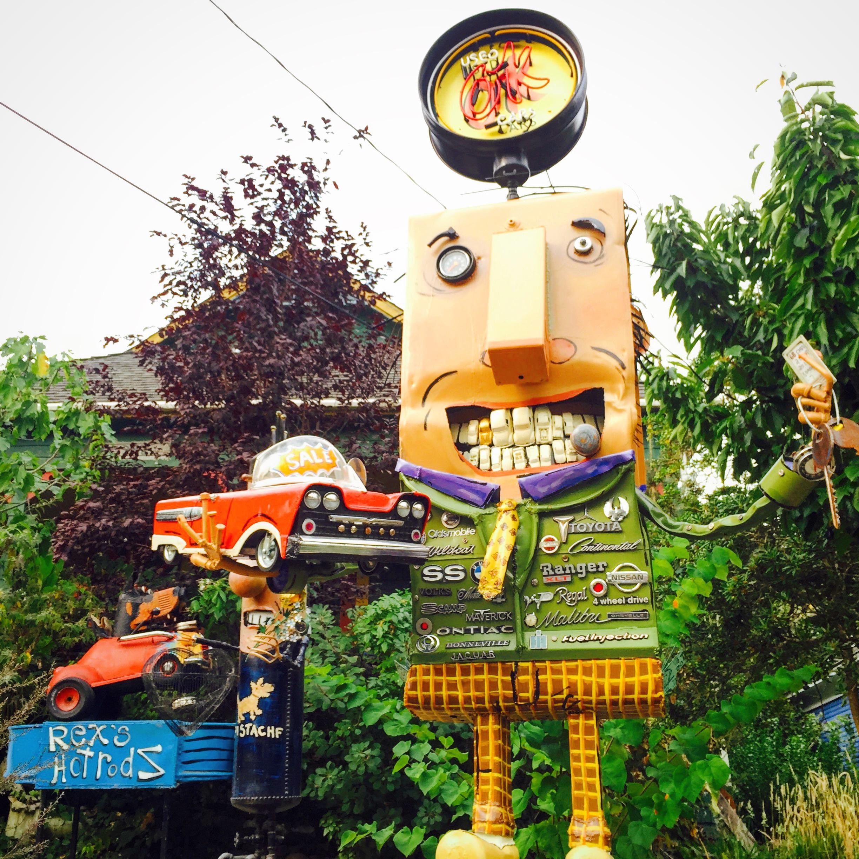 Florence Ave., Sebastopol, CA, Sept. 2015