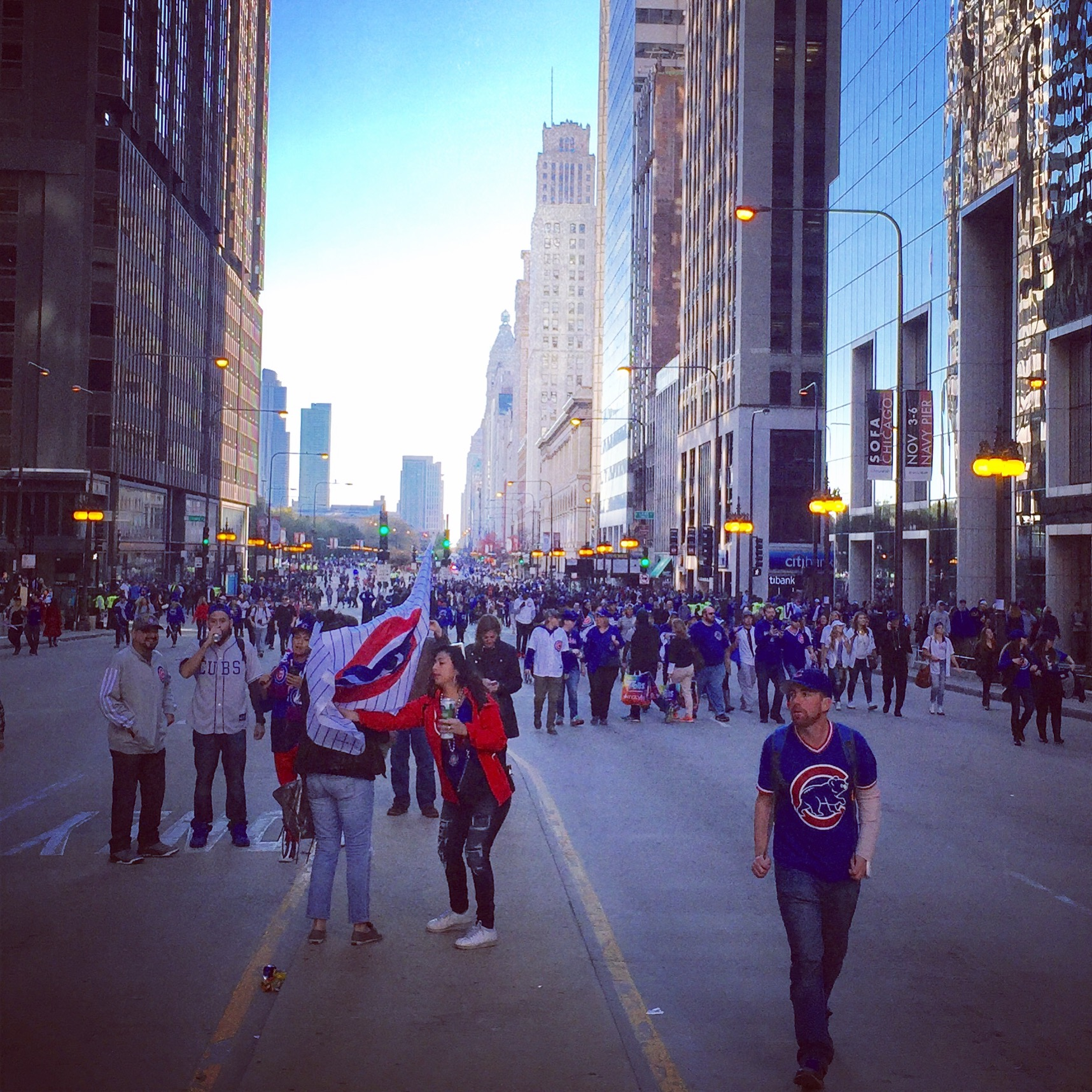 Cubs Victory Parade, Chicago, IL, Nov. 2016
