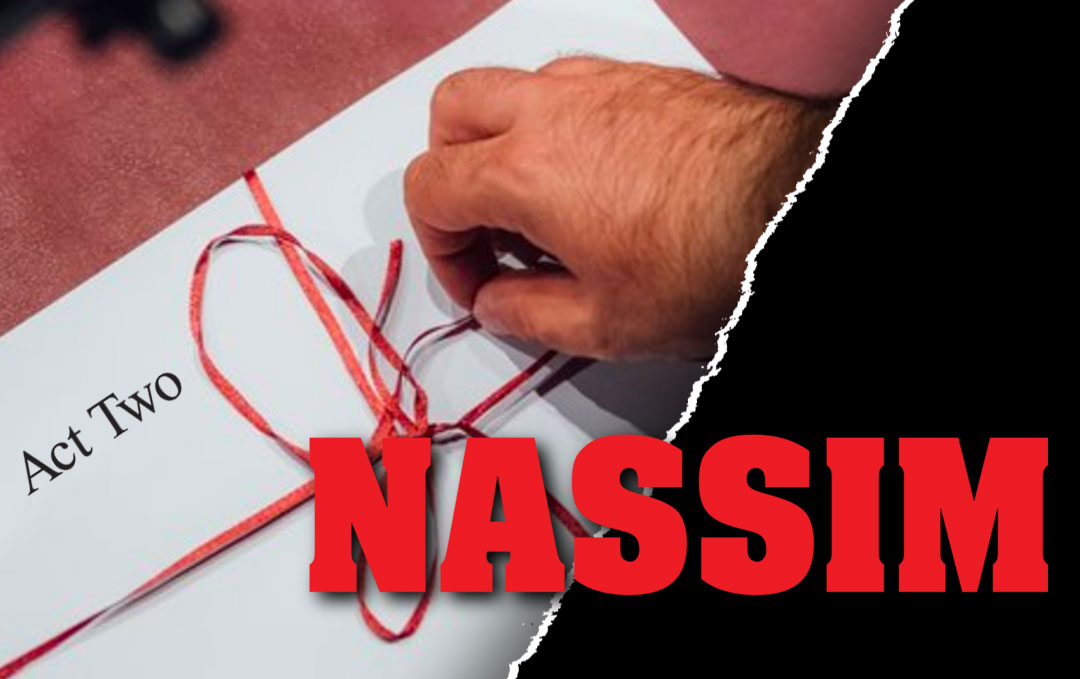 No rehearsals. A sealed envelope. A new actor at every performance. And a few surprises. From the creator of the off-Broadway smash White Rabbit Red Rabbit comes Nassim — an innovative new play that explores the power of language and friendship.