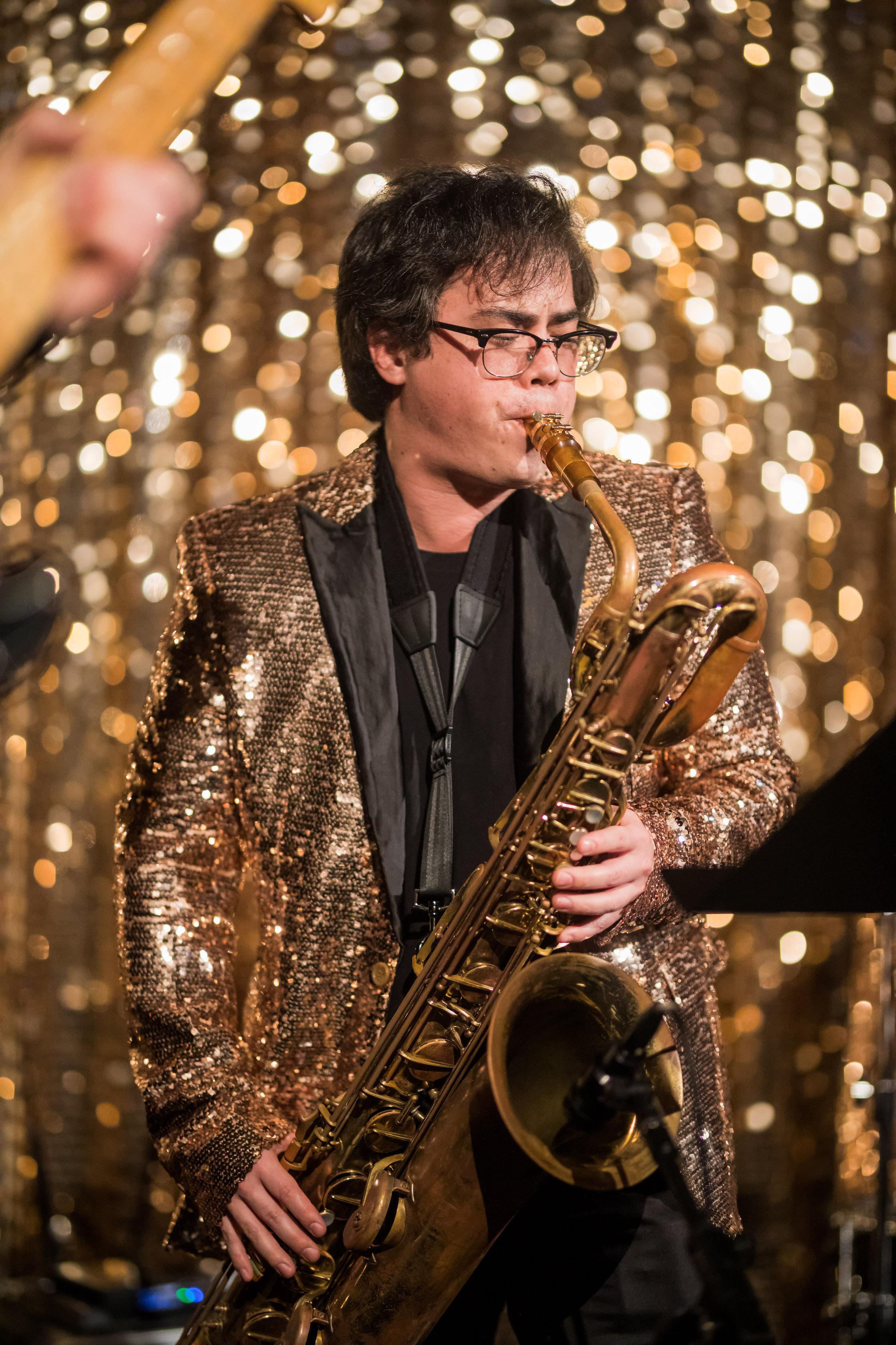 Max, clarinet -