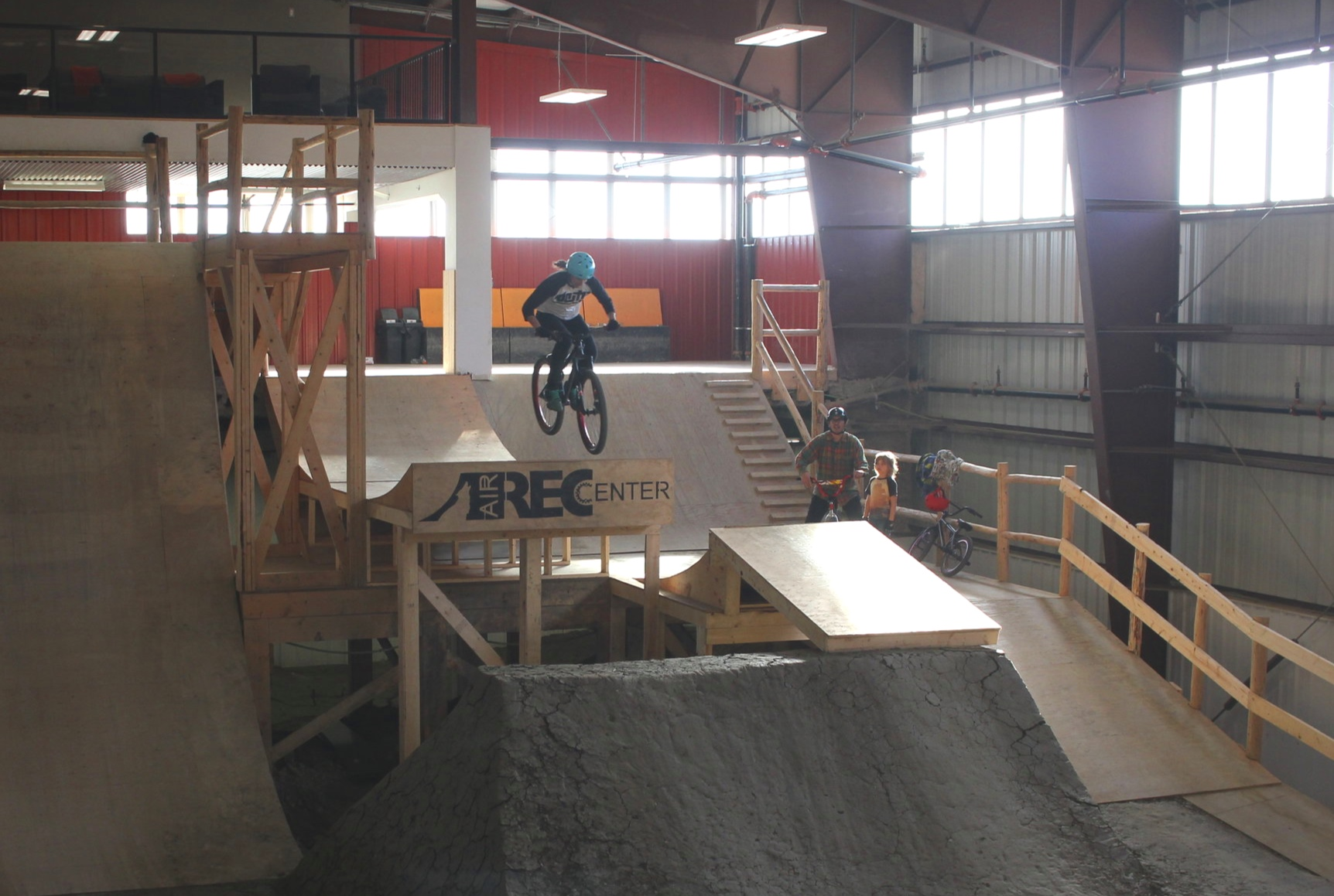 Heather Barody-Adams dropping in at Air Rec in Maple Ridge, BC. Photo credit: Ben Adams