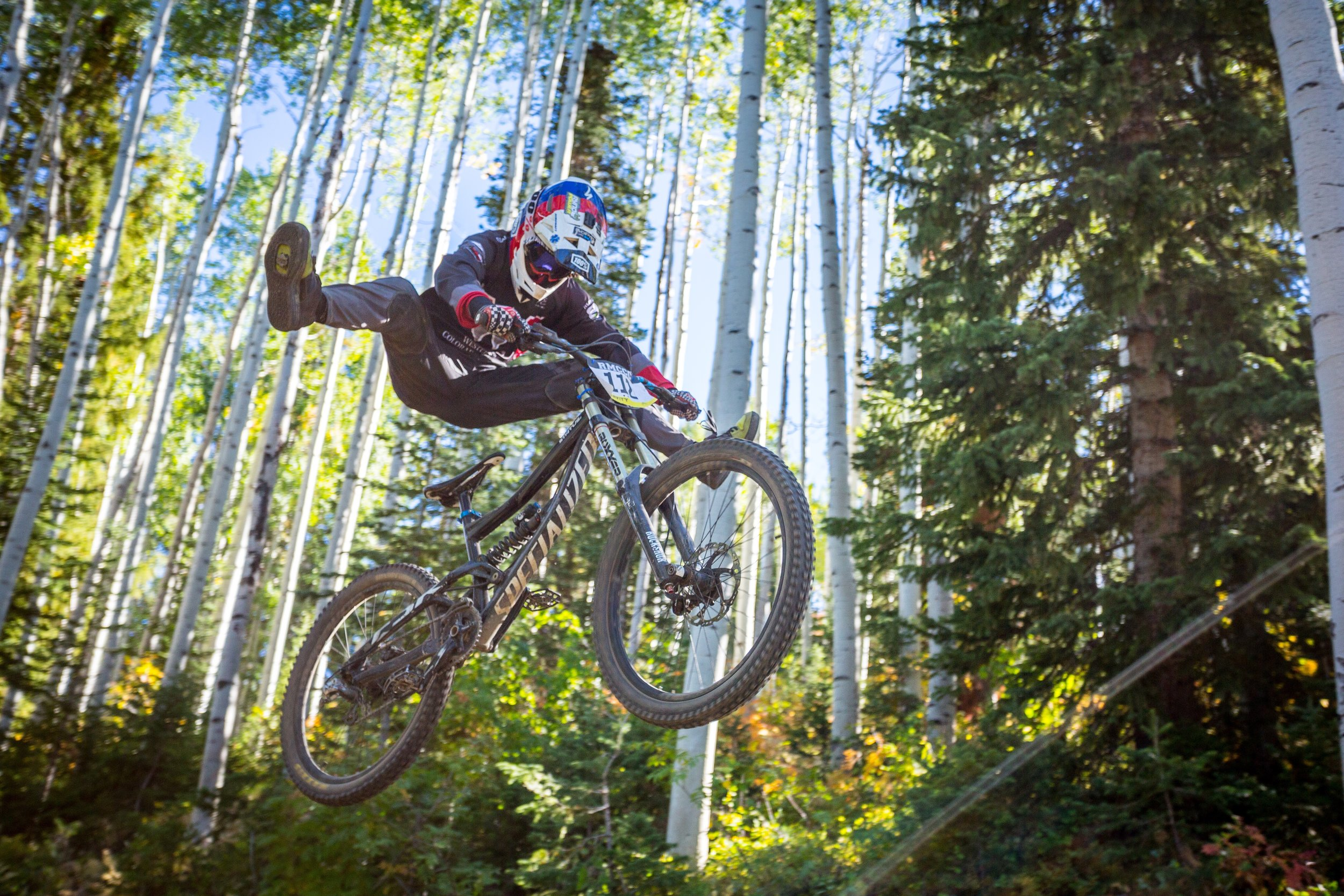No footer with SPD's and with such extension!! Steamboat Springs, Colorado. Photographer: Jeremy Wallace