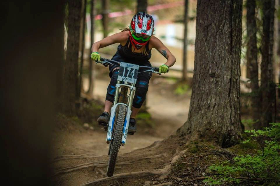 Phat Wednesday fun in the Whistler Bike Park!! Also know as World Cup Wednesday because any given Wednesday it could be chocked full of pros. Congrats on second place at last weeks race!! Photo credit: Clint Trahan.