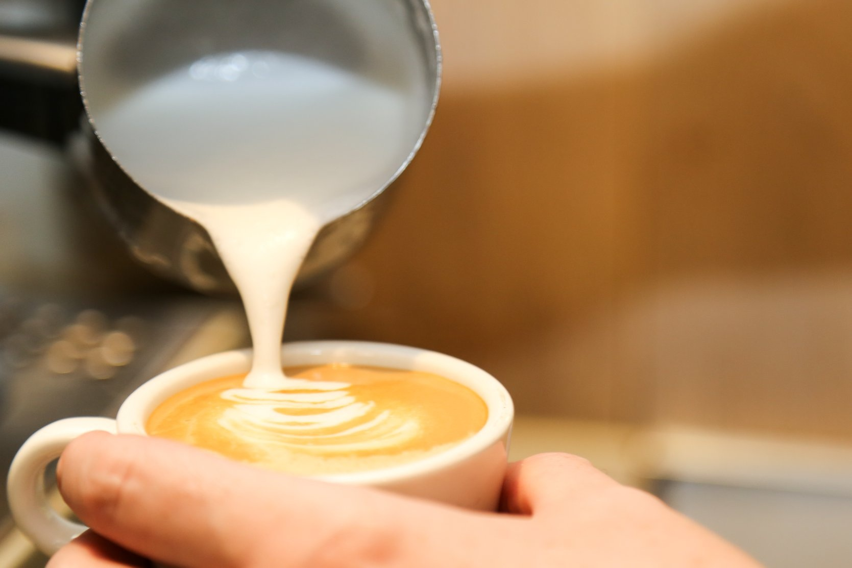 """""""Coffee Anyone"""" - Join us for a cup of coffee and a cheeky sweet.Open 7 days 10am till late"""
