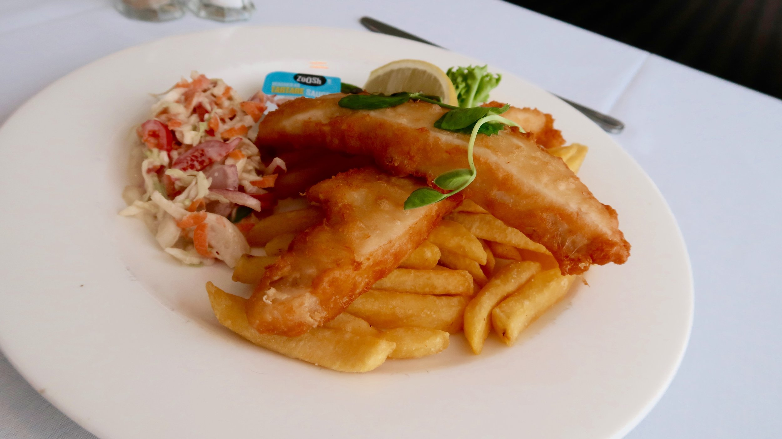 Fish, Chips & Coleslaw Available Everyday -