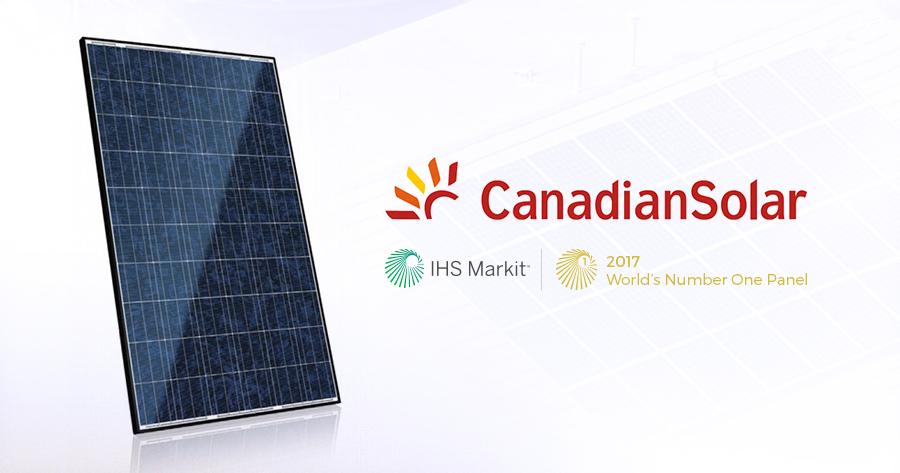 290W Mono-Crystalline Canadian Solar Panel