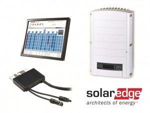 Solar Edge Inverter, Optimiser and Monitoring Software