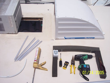 STEP 1 - Tools Required for Executive Hood Assembly