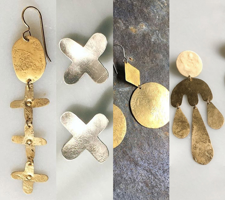 samples of shapes, textures and styles