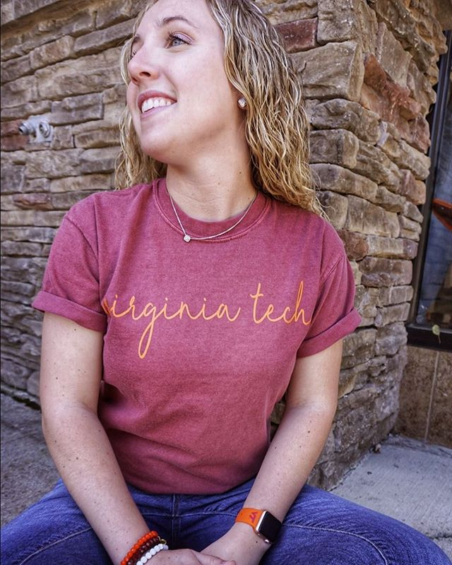 "Keep things sweet & simple this summer with one of our most popular Comfort Color designs 🌞⠀ ⠀ Reposting @alumnihallvt:⠀ ...⠀ ""Waiting on summer like...💁"""
