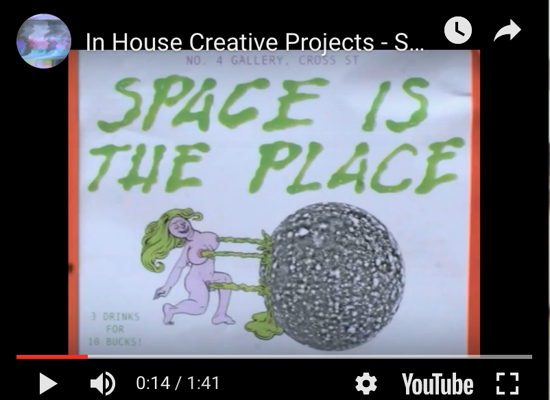Space is The Place - In House Creative Projects 2012