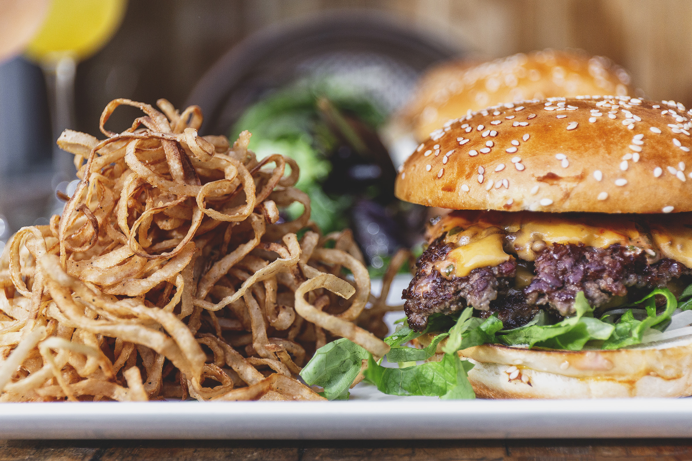 Causwells Americana Burger Fried Onions.jpg