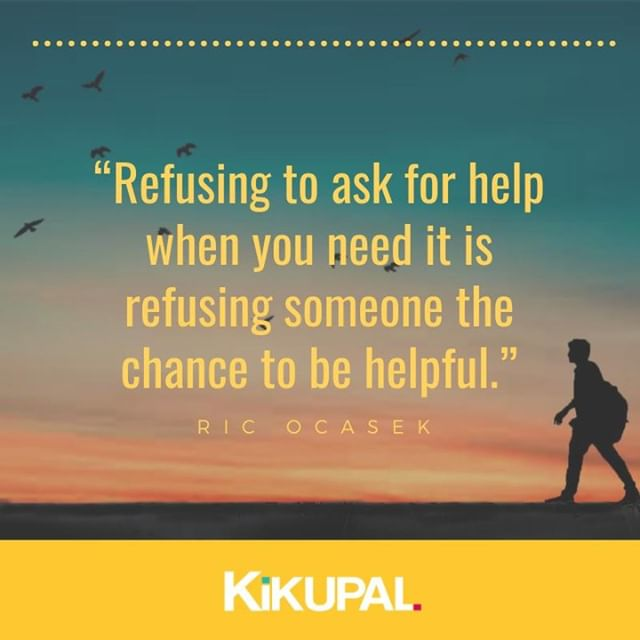 It can be difficult to seek support from family, friends, and professional help. But when we ask and receive the help we need, we accelerate the healing process. People also want to help so let them! :)