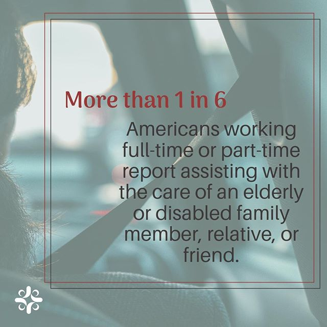 Caregivers working at least 15 hours per week indicated that this assistance significantly affected their work life.