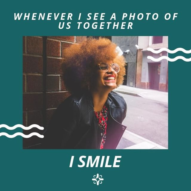 Send a photo today of you and whoever makes you smile. We bet your simple act of appreciation will make their day!