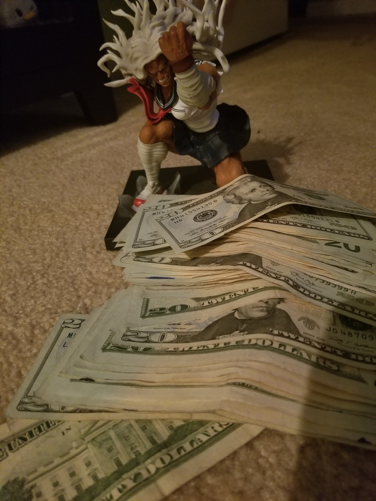 This is the Money Sakura. If you Donate she will bless you with good luck and even more money will come your way!