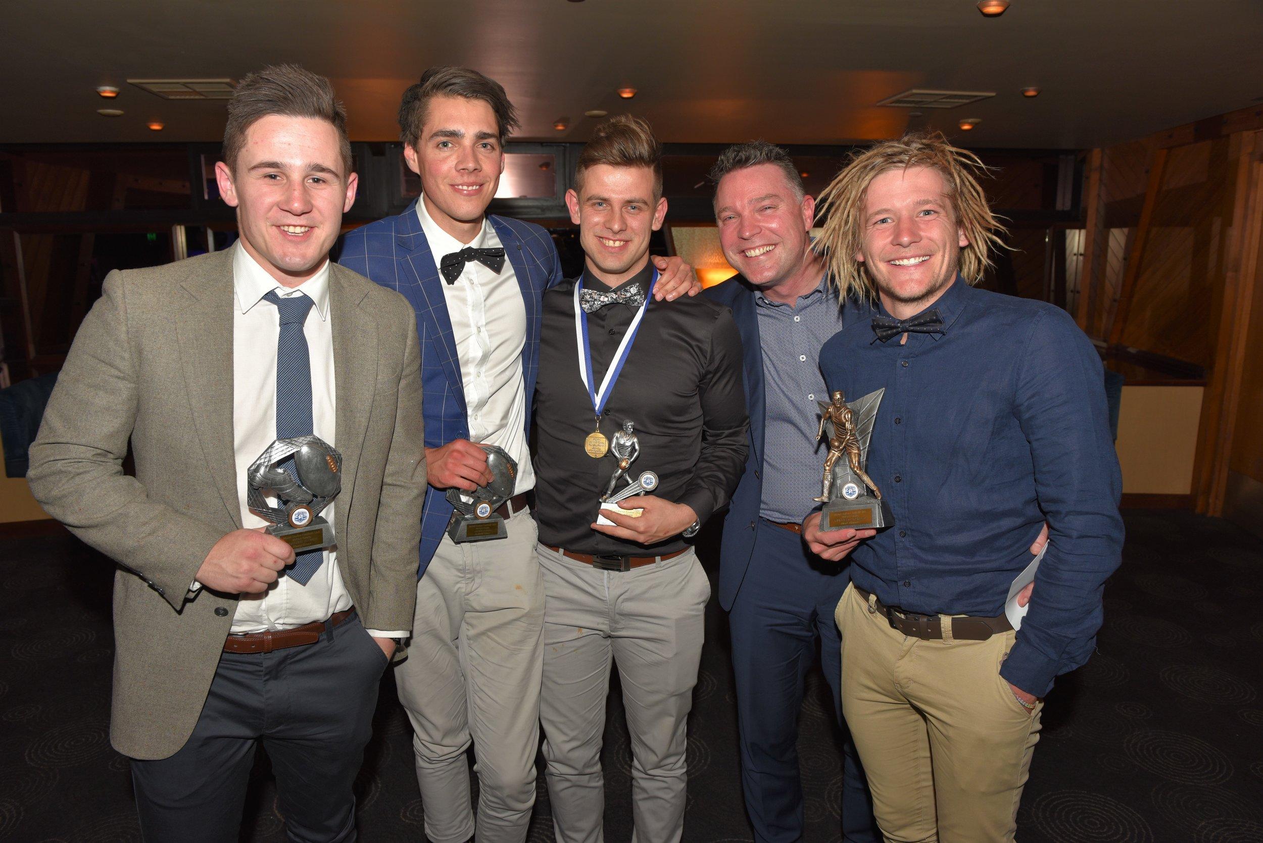 A Grade awards, Henry Bruce, Malachi Lines, Harley Montgomery, Scott Tidemann, Mark Thomas.jpg