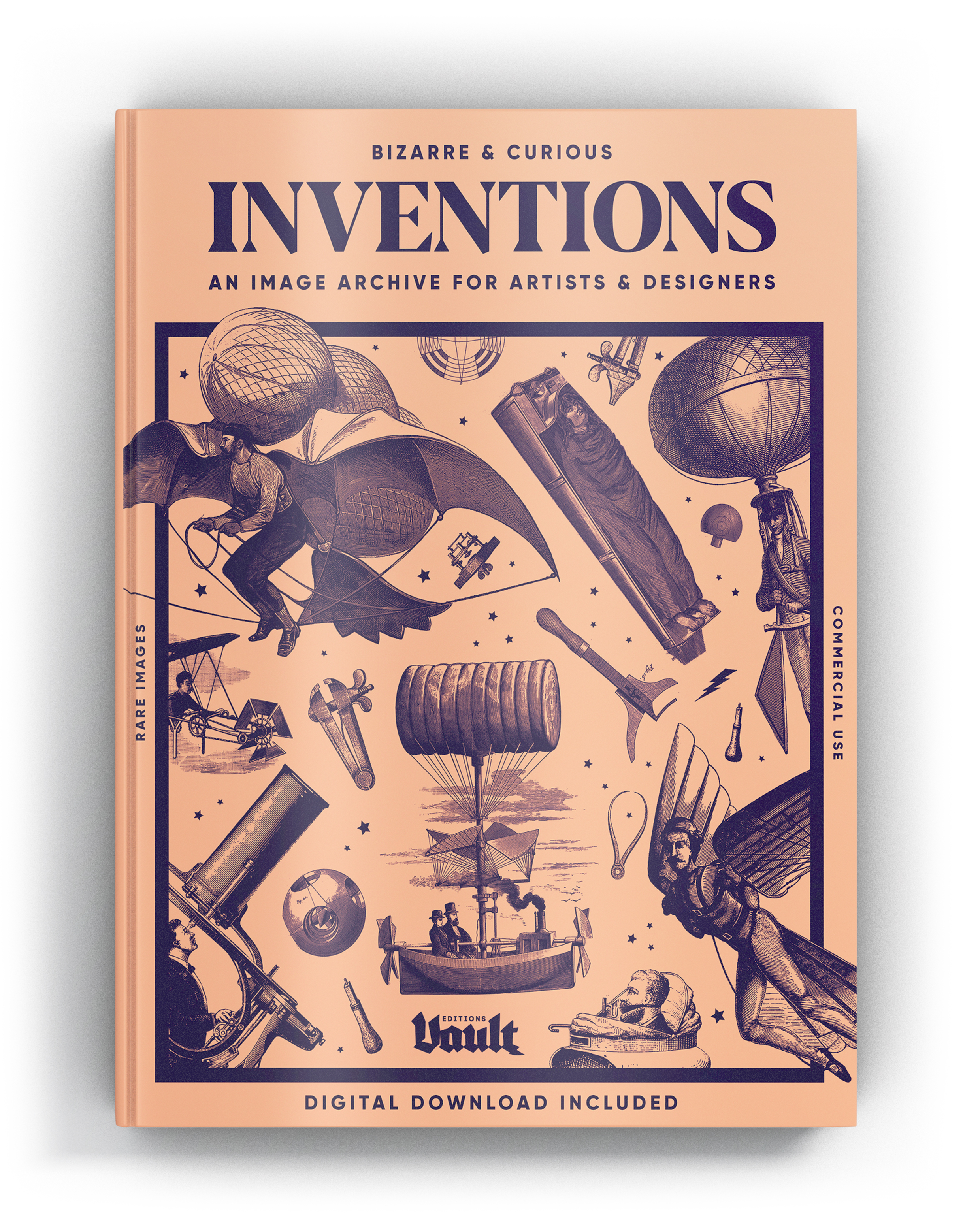 Bizarre & Curious Invention Copyright Free Images