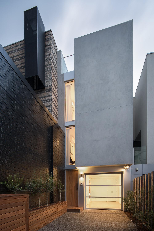Prahran Townhouse, Melbourne - Daniel Ash Architects