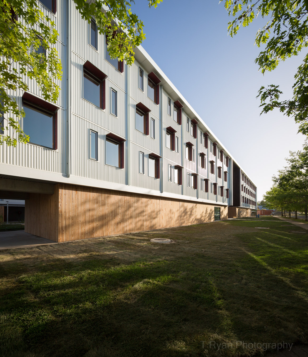 University of Tasmania - Inveresk Residences, Morrison & Breytenbach Architects, Hutchinson Builders  Aldanmark Consulting Engineers